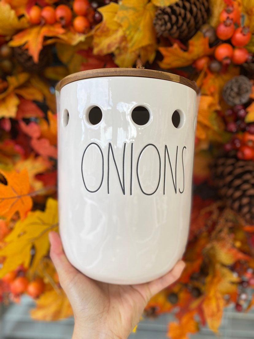 Rae Dunn onions