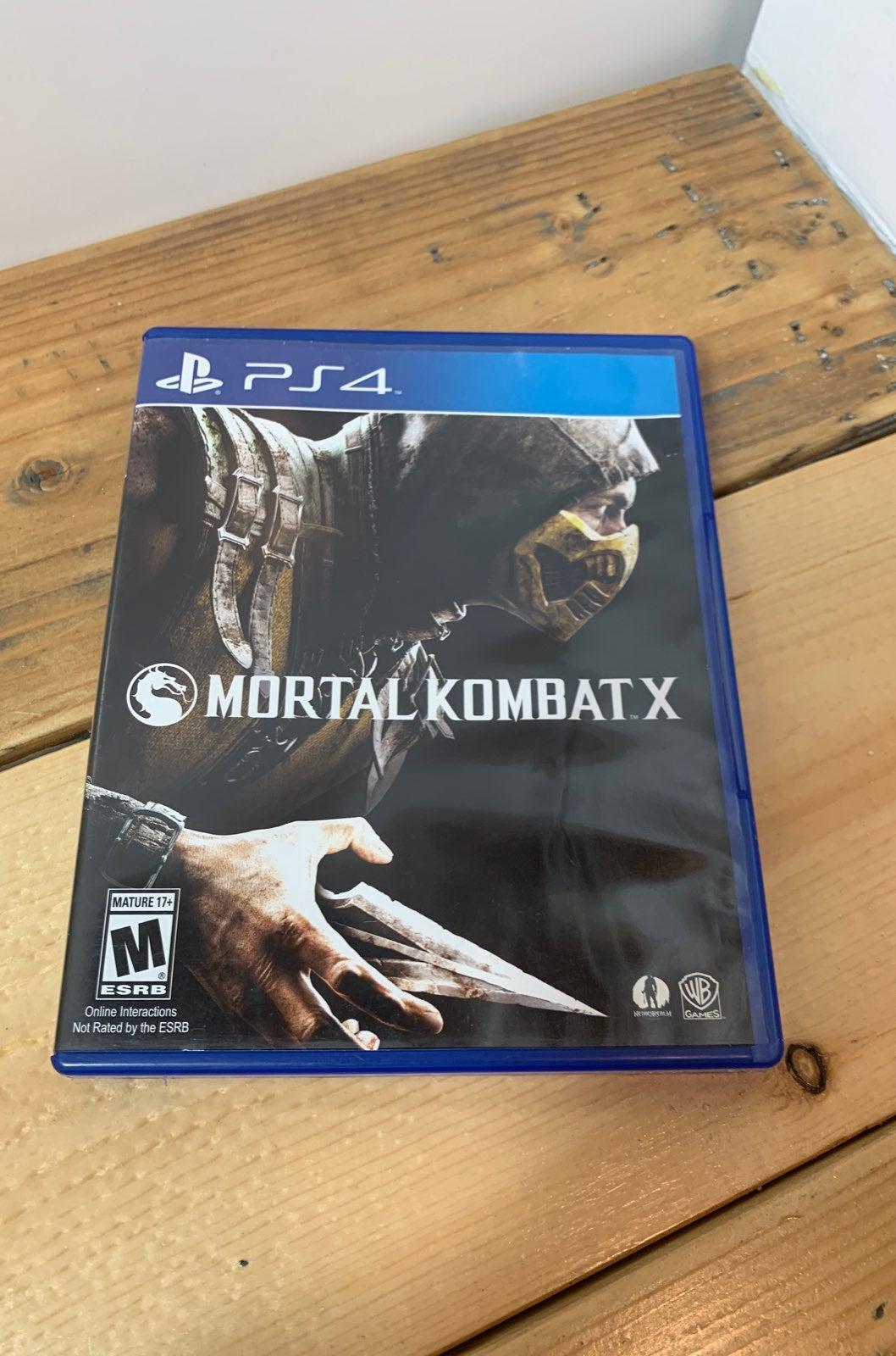 Mortal Kombat X PS4