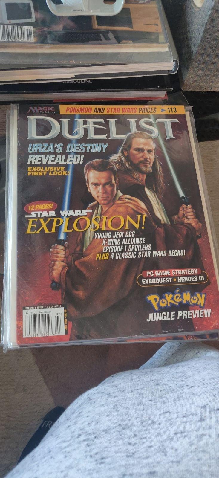 Duelist volume 6 issue 7. Mtg. magic.