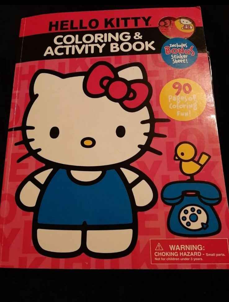 Hello Kitty Color & Activity Book and ec