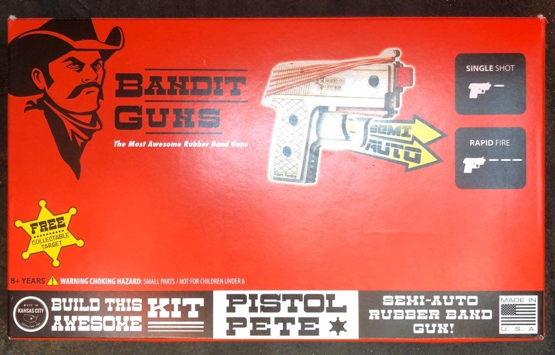 Ruber band gun