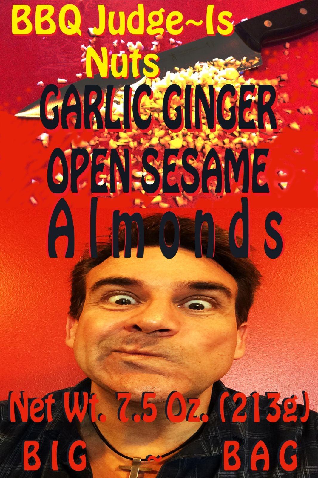 (2) 3oz bags of Garlic Ginger Open Sesam
