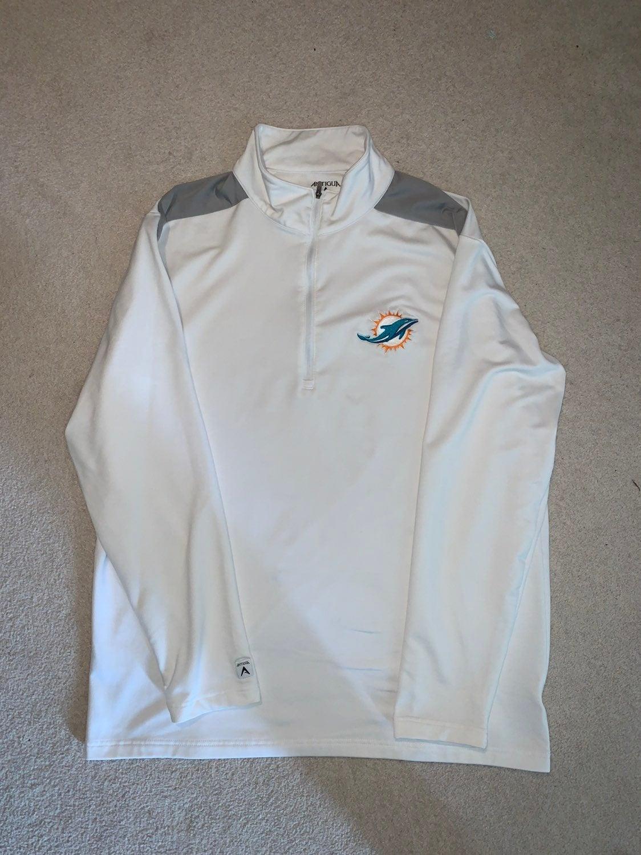 Miami Dolphins Antigua 1/4 Zip Pullover