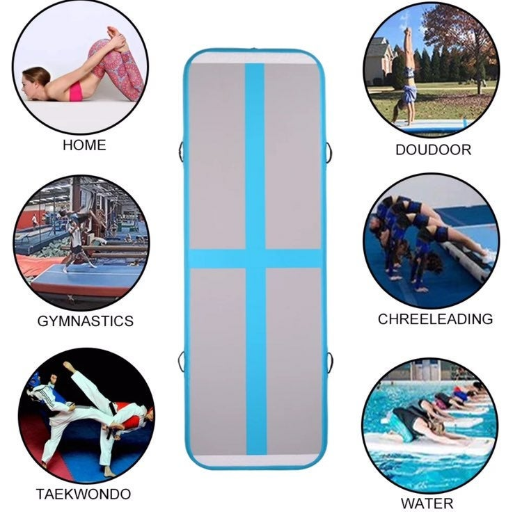 New air track gymnastics mat tumbling