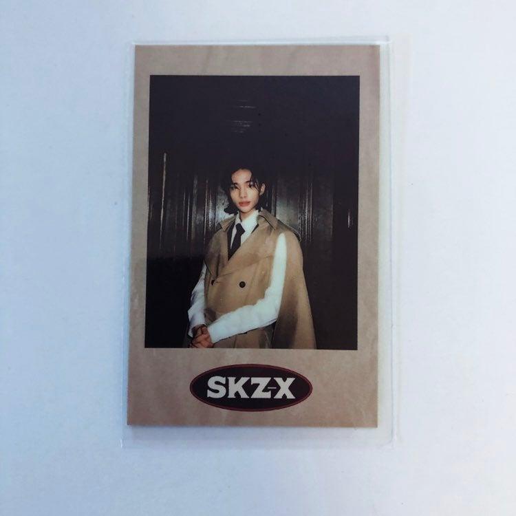 Hyunjin stray kids pola pc photocard