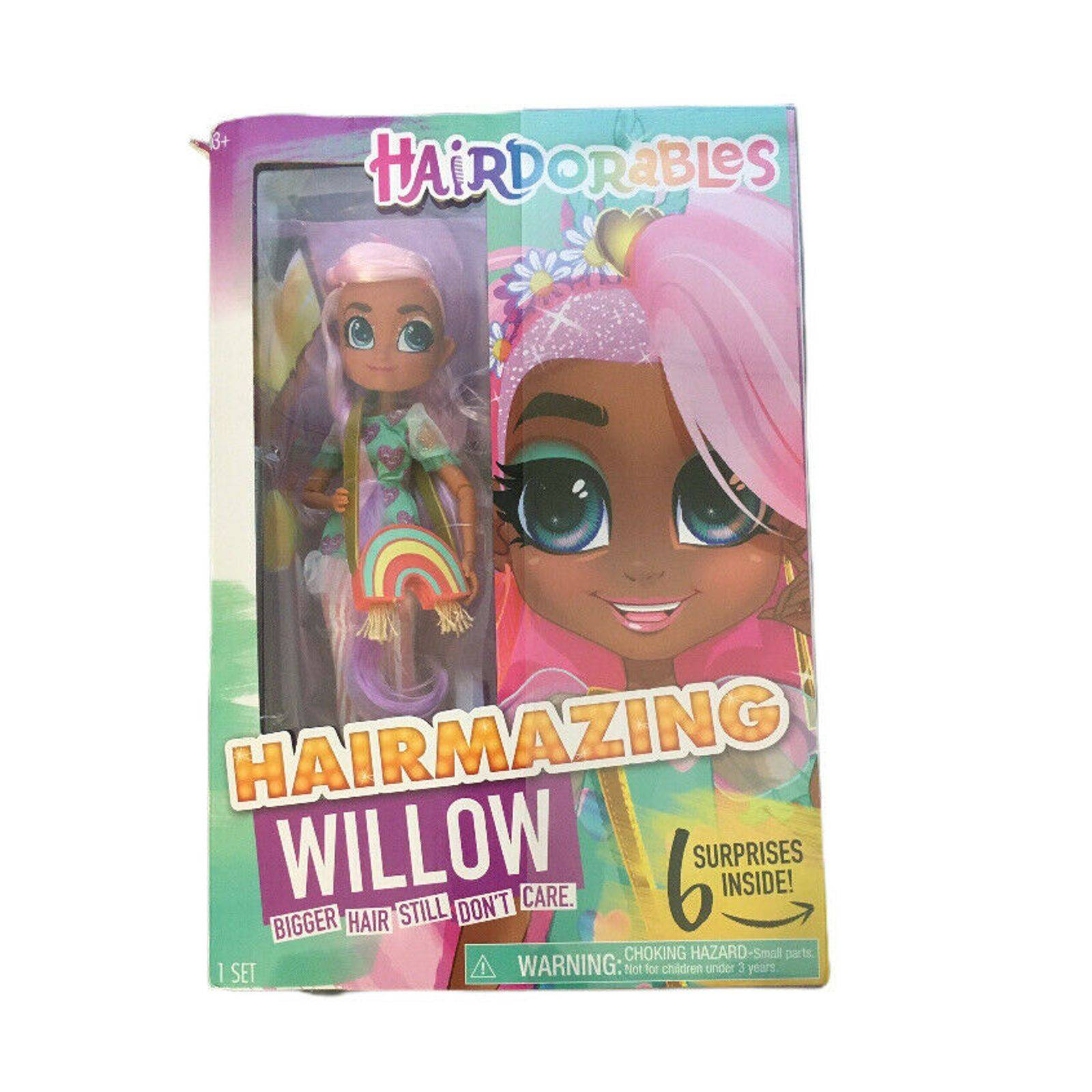 """Hairdorables Hairmazing """"Willow"""" Doll"""