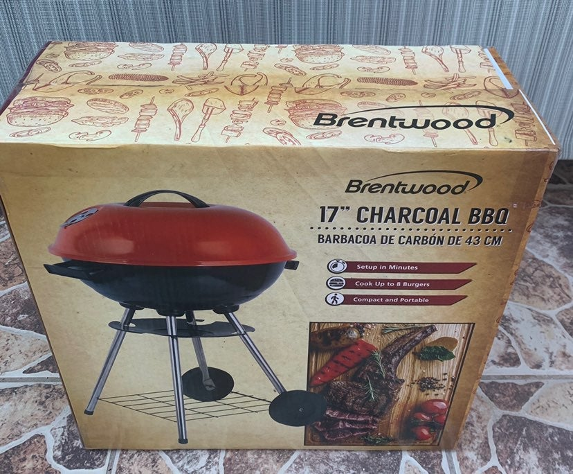 Brentwood BB 17-Inch Portable Charcoal B
