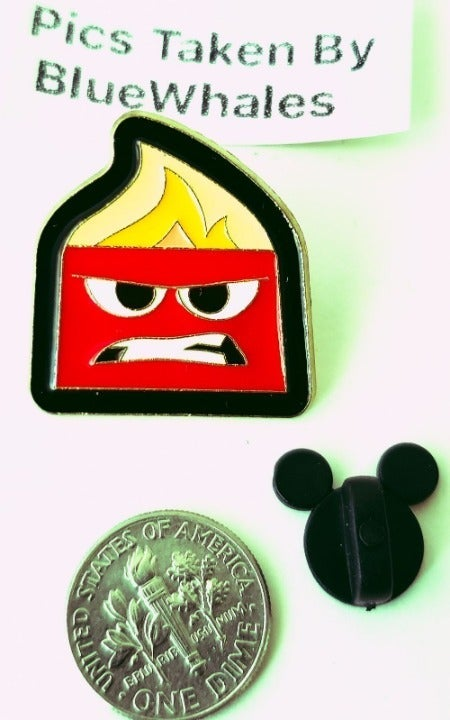 Movie Inside Out Anger Funny Pin
