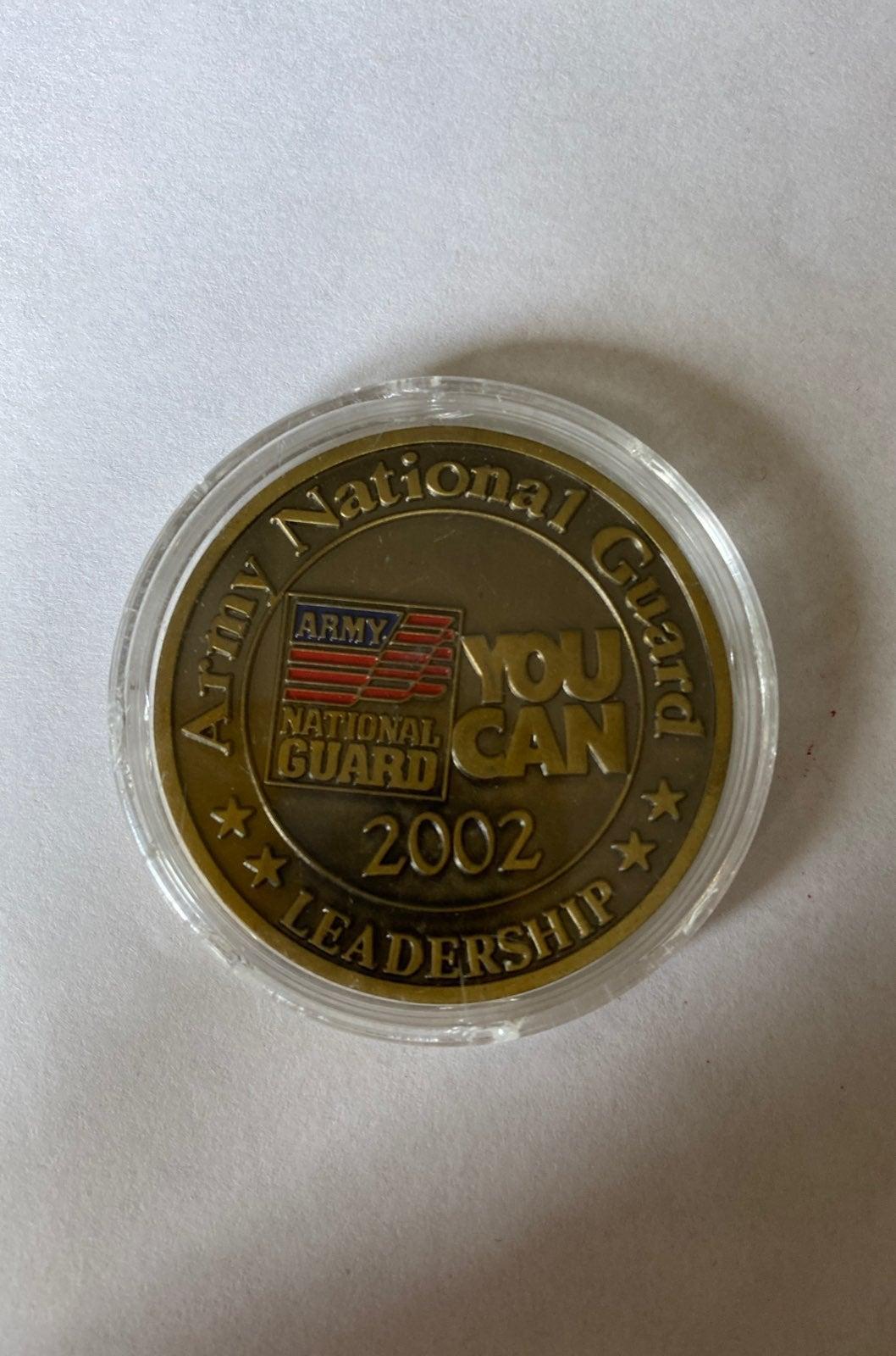 Army national guard coin/token