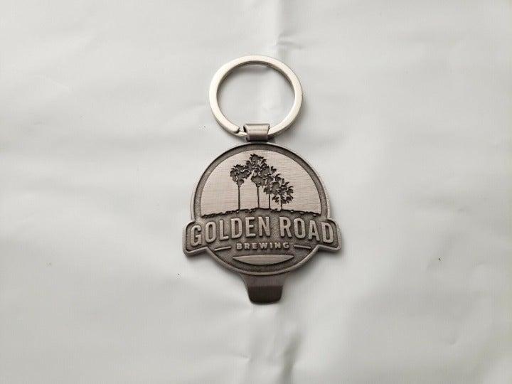 Golden Road Brewing Keychain