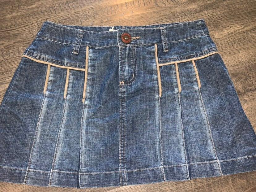Vintage Z.Cavaricci Denim Skirt