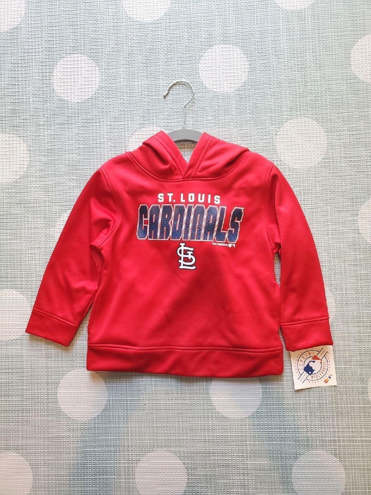 St Louis Cardinals 2T Hooded Sweatshirt