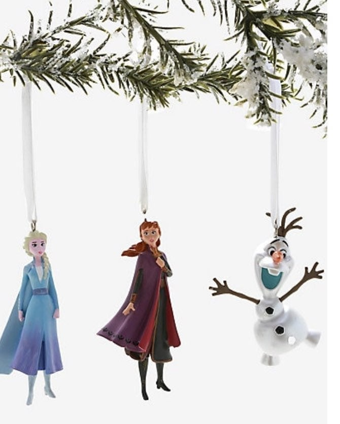 DIsney Frozen 2 Ornament Set (HallMark)