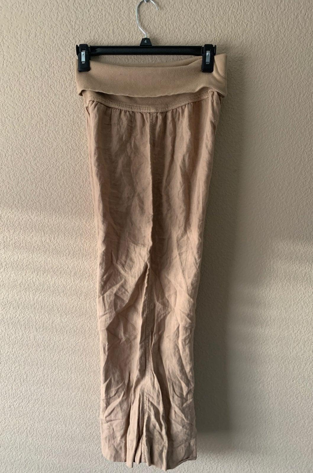 Bella Dahl Linen Wide Leg Pants Small