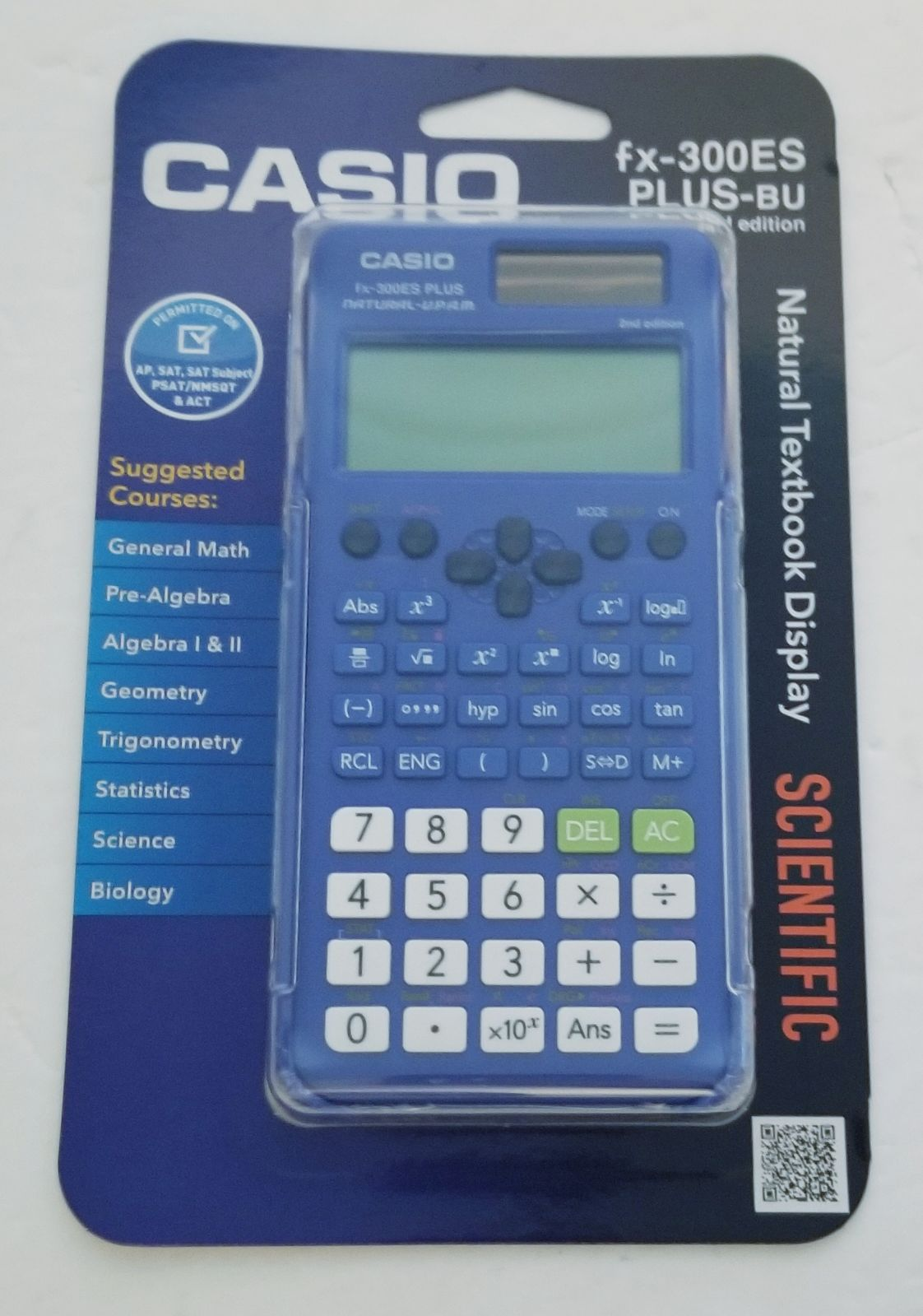 Casio Scientific Calculator FX-300ES PLU