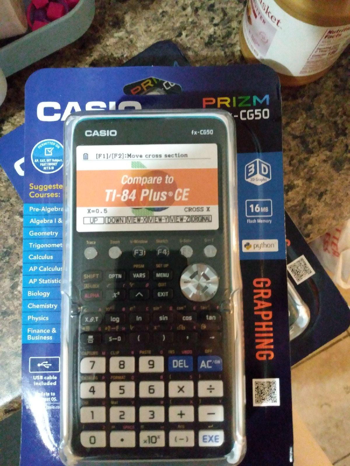 Casio prizm Graphing Calculator