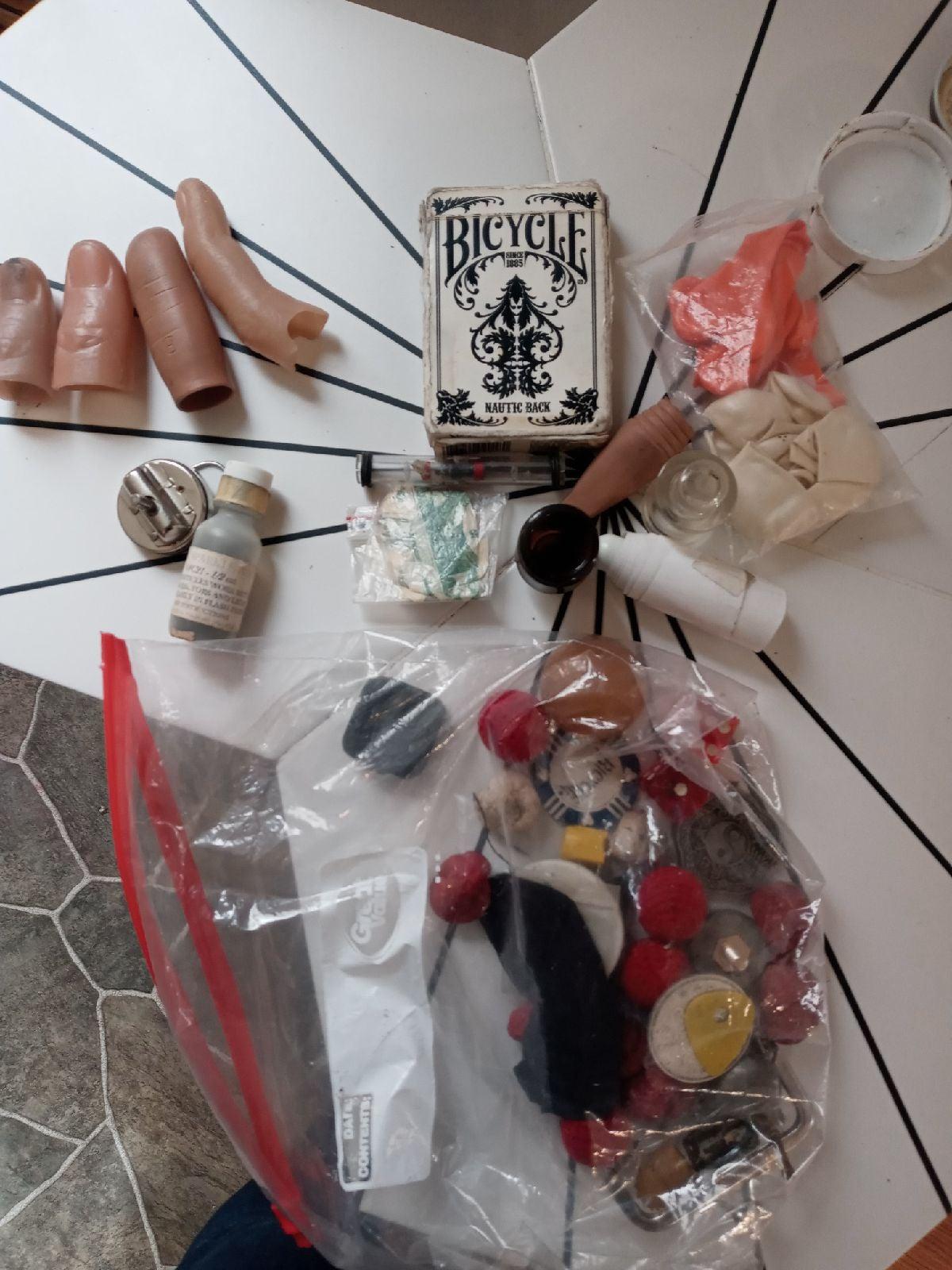 A bag of magicians tricks