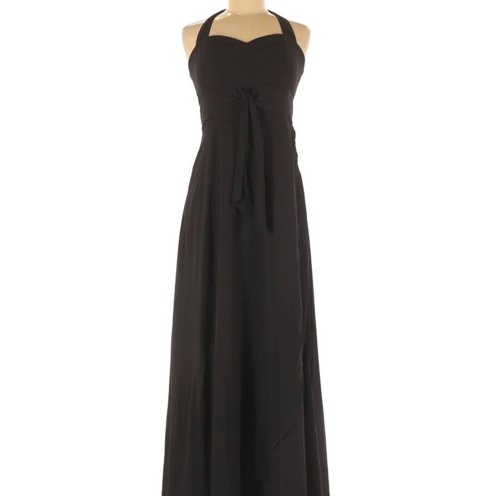 Bar III Long Maxi Halter Formal Dress
