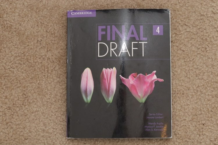 FINAL 4 DRAFT by Cambridge USED