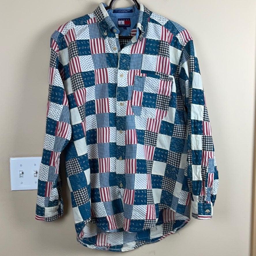 Tommy Hilfiger American Flag Patchwork