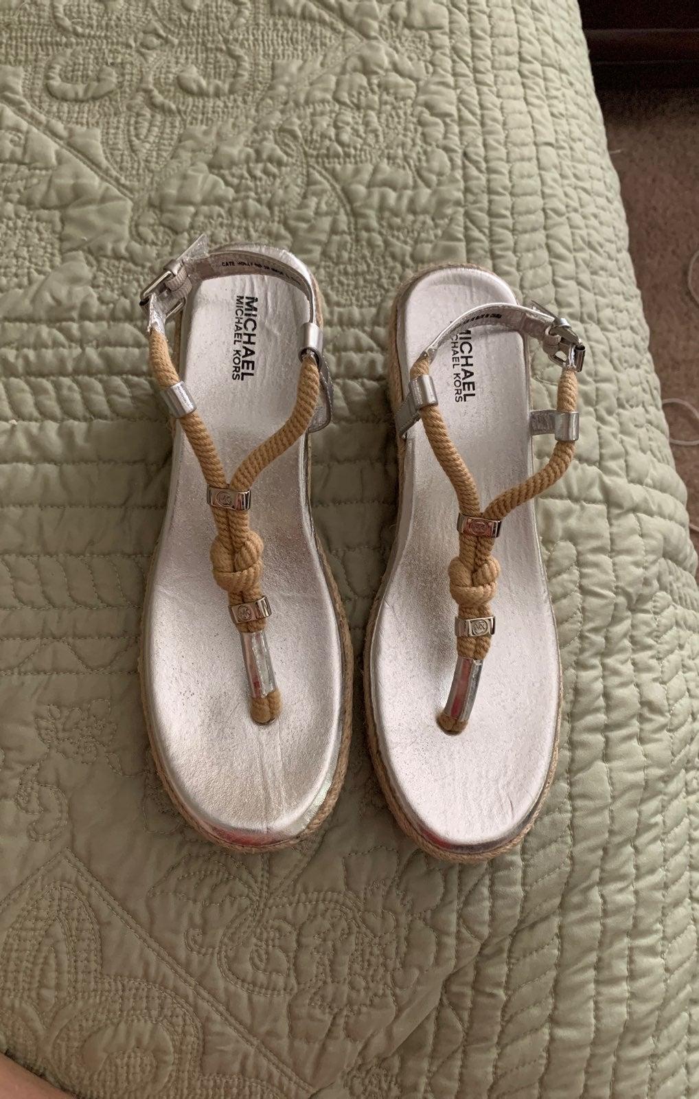 Michael Kors sandals size 3M
