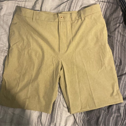 Golf Shorts brown mens size 36 new