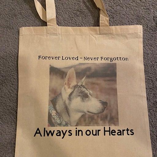 Memorial gift - custom tote