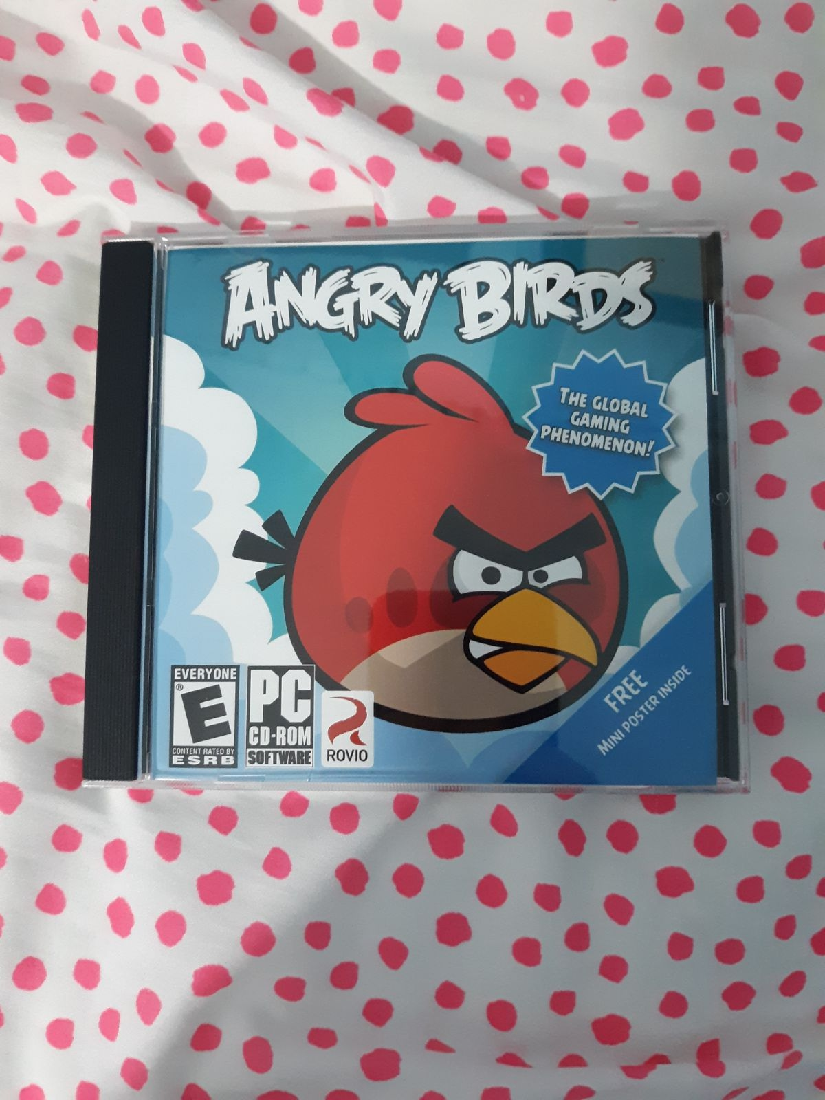 Angry Birds CD Computer Game