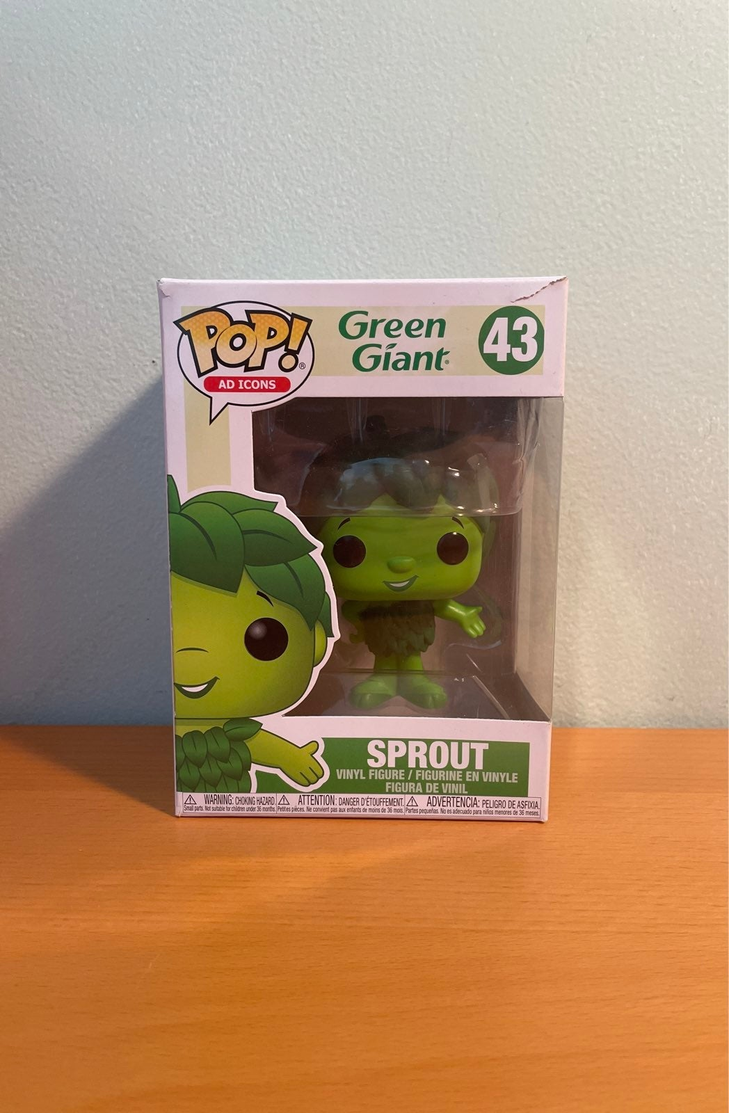 Ad icons Green Giant Sprout Funko Pop