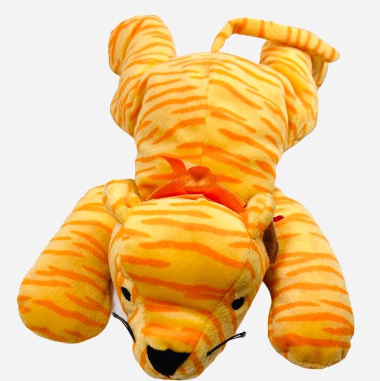 TY Pillow Pal Purr Orange Striped Tiger