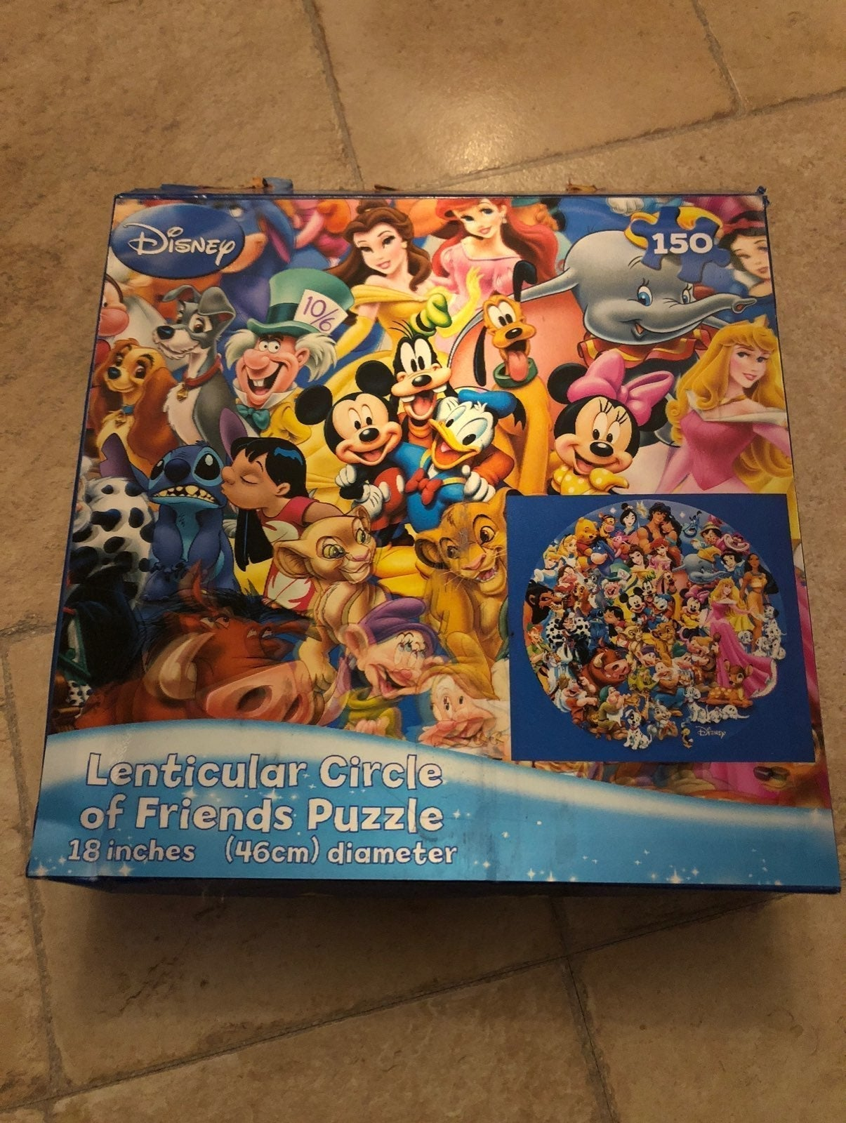Disney puzzle 150 pieces
