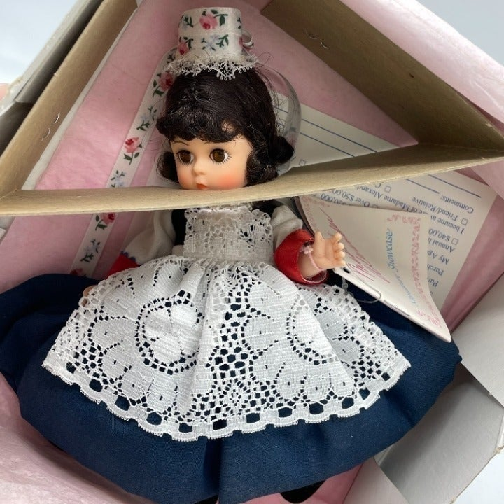 "90's Madame Alexander France 8"" Doll"