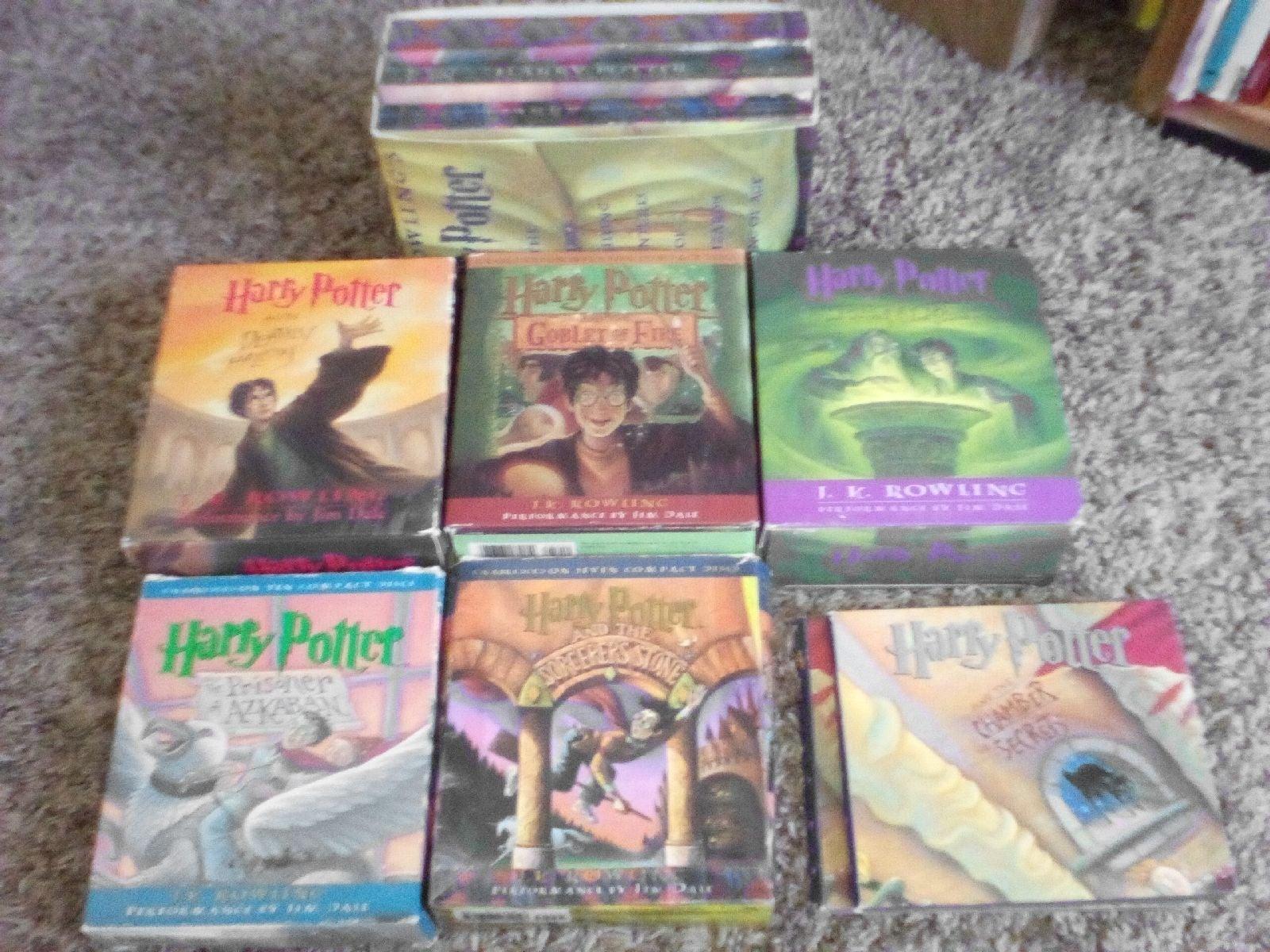 Harry Potter CD Audiobooks & Books