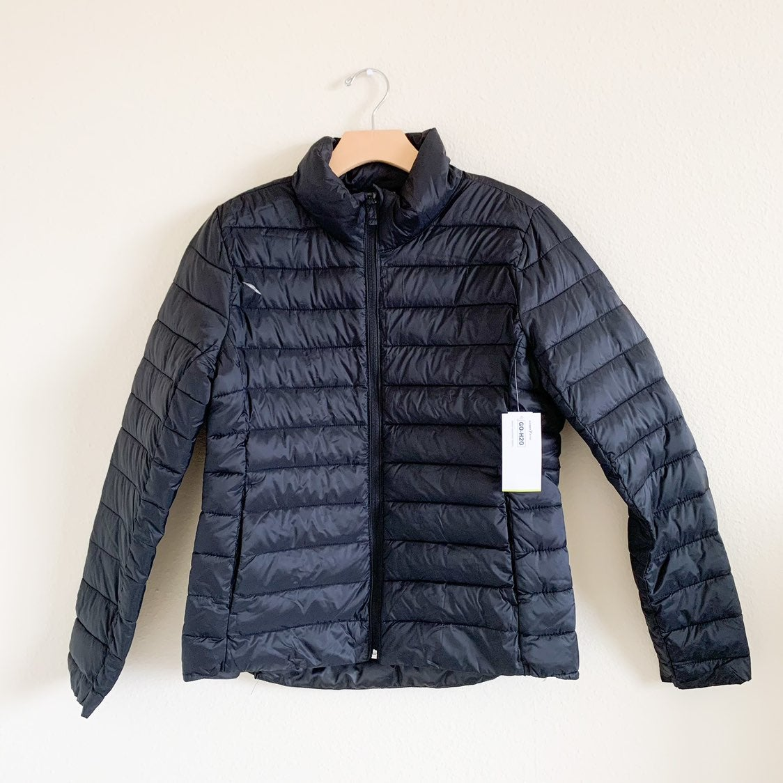 Old Navy Hooded Narrow Channel Puffer Ja