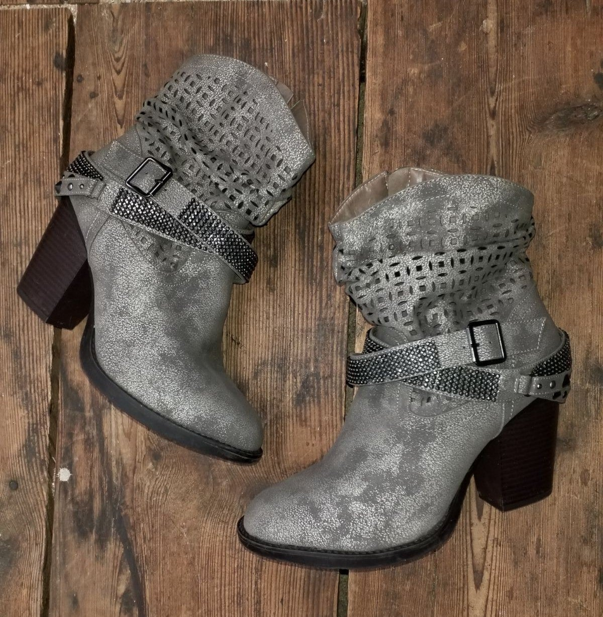 Lane Bryant Western Slouch Booties