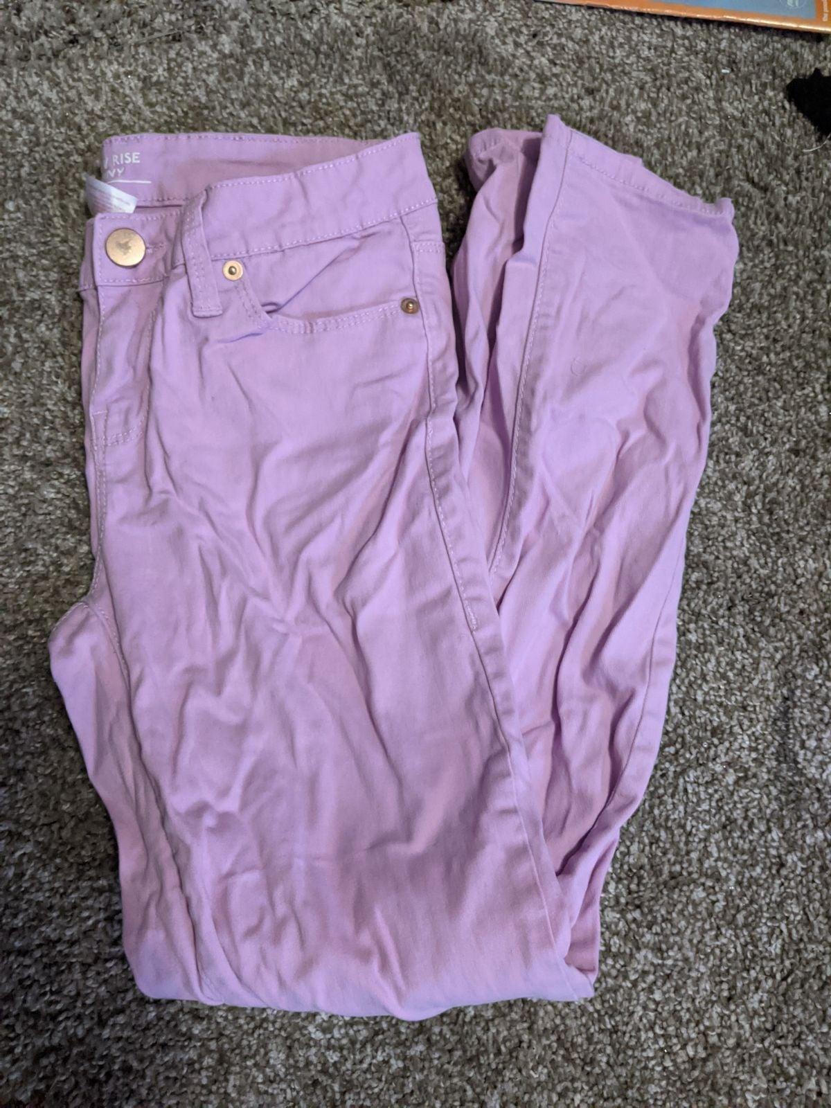 Pastel Low Rise Skinny Jeans