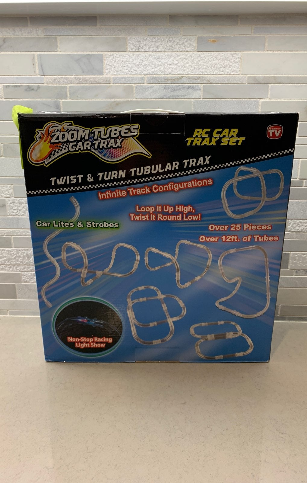 New zoom tubes car trax RC car trax set