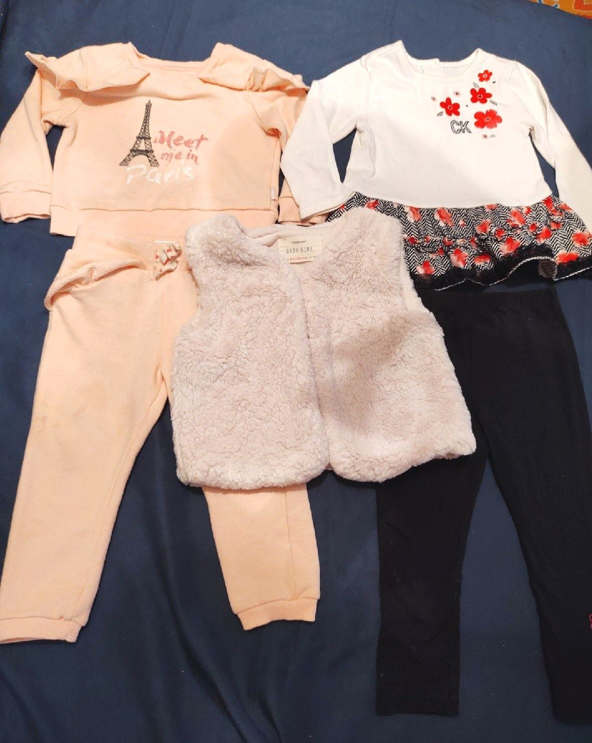 Bundle toddler girl size 2t clothes