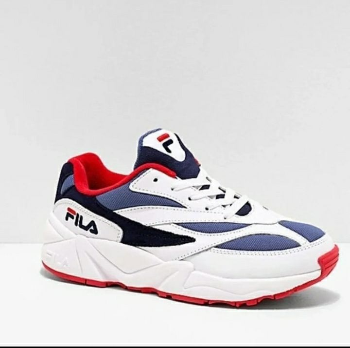 FILA V94M Red, White & Blue Shoes 7