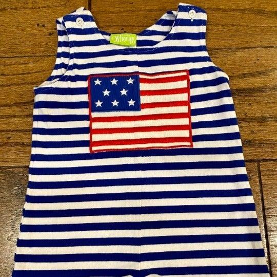 Classic Whimsy Knit Flag USA Jon Jon 24M
