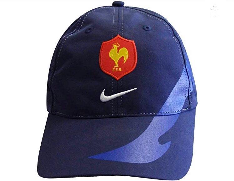NWT France FFR Rugby Nike Baseball Hat