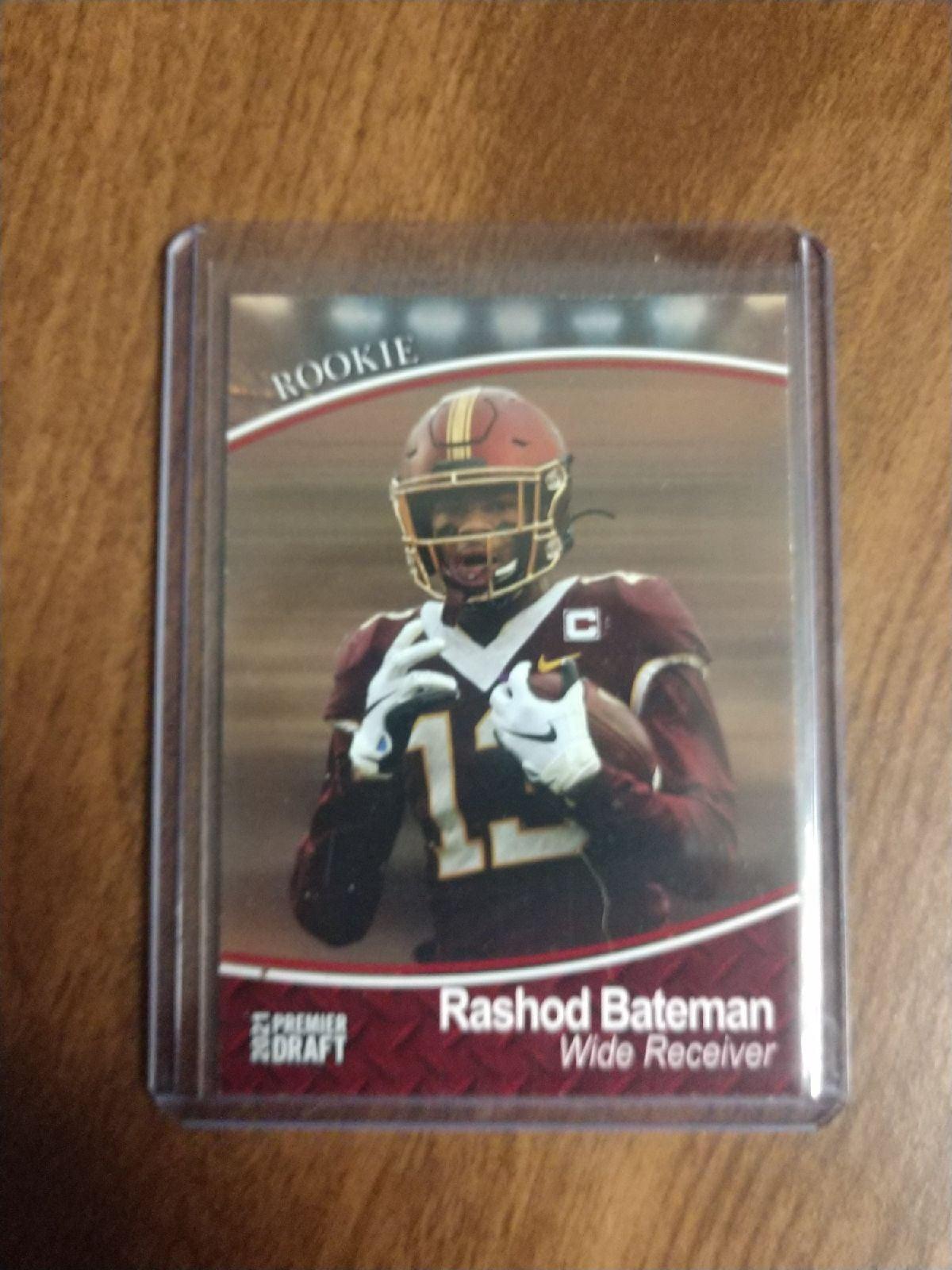 2021 Premier Draft Rashod Bateman Red