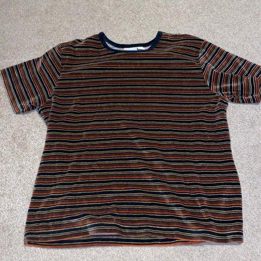 Velvet tshirt top