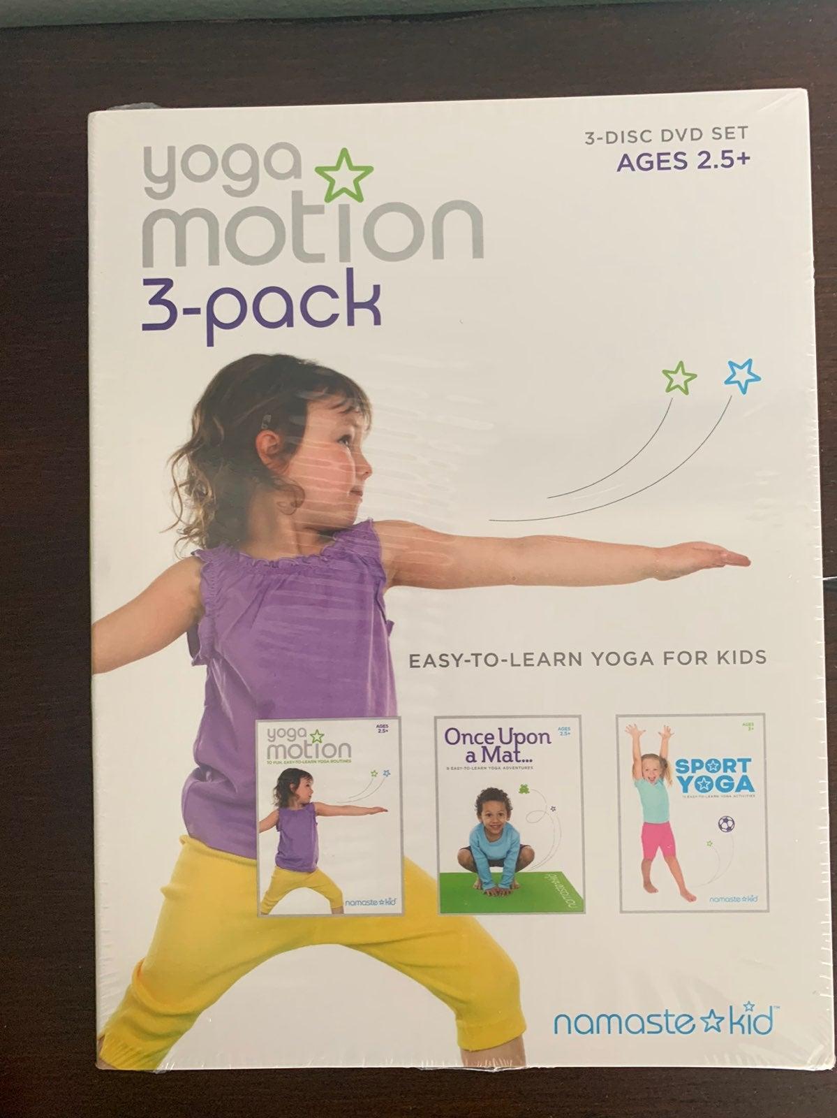 Yoga Motion 3-Pack DVD