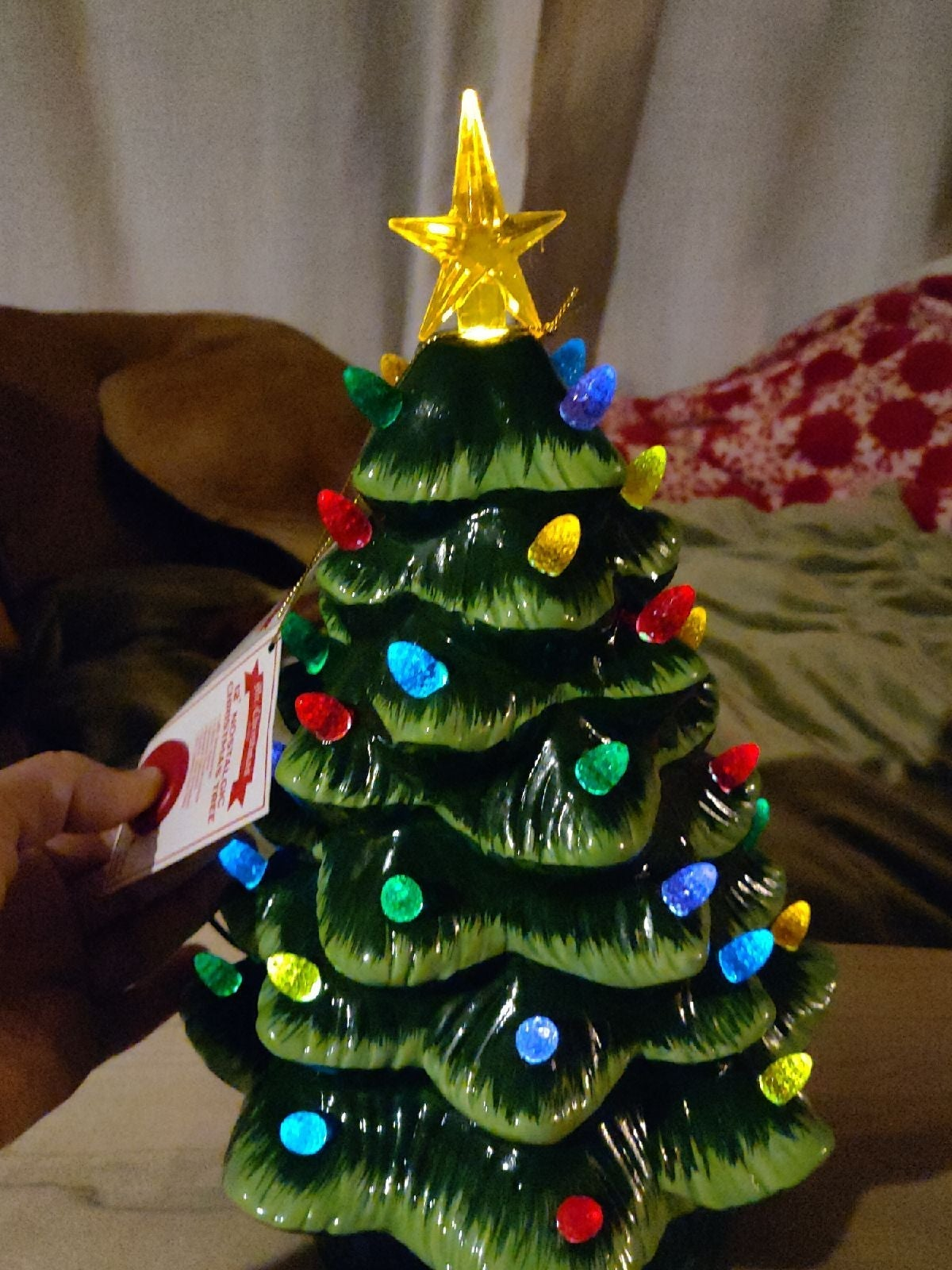 Mr Christmas Nostalgic 12 in Tree Green