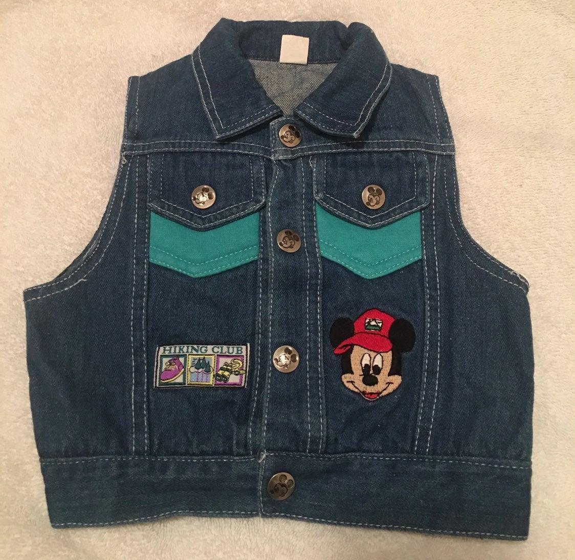 ♥️DISNEY Mickey Mouse Denim Vest (12mos)
