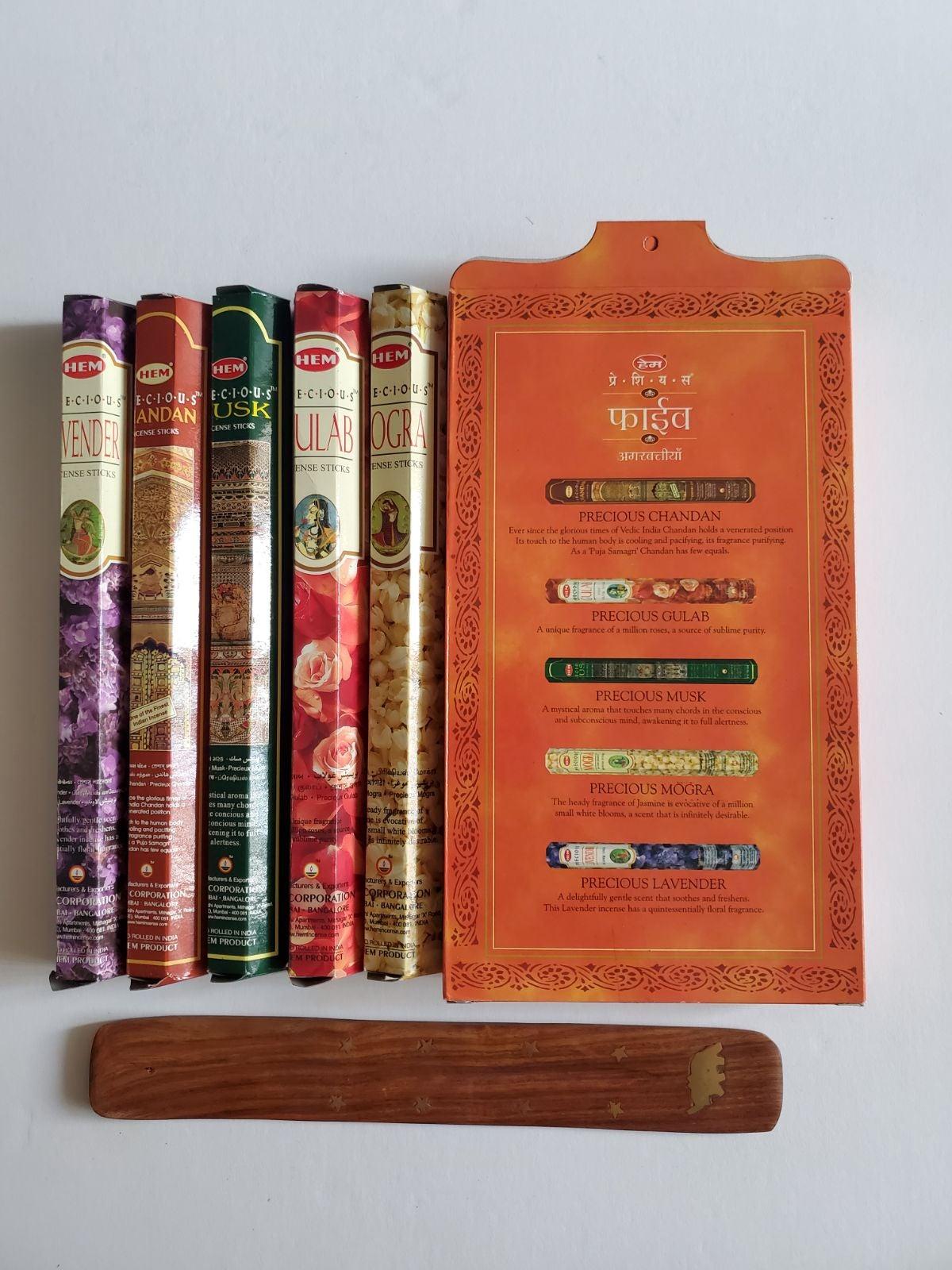HEM Precious Incense Sticks Gift Pack