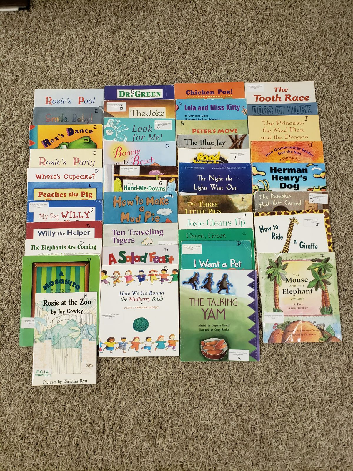 39 kids level reading books
