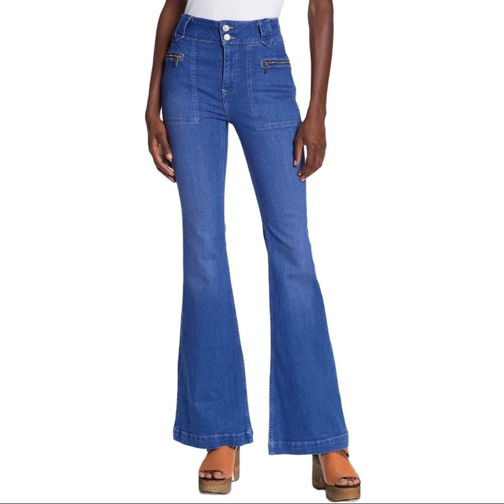 Free People Flare Jeans - Layla