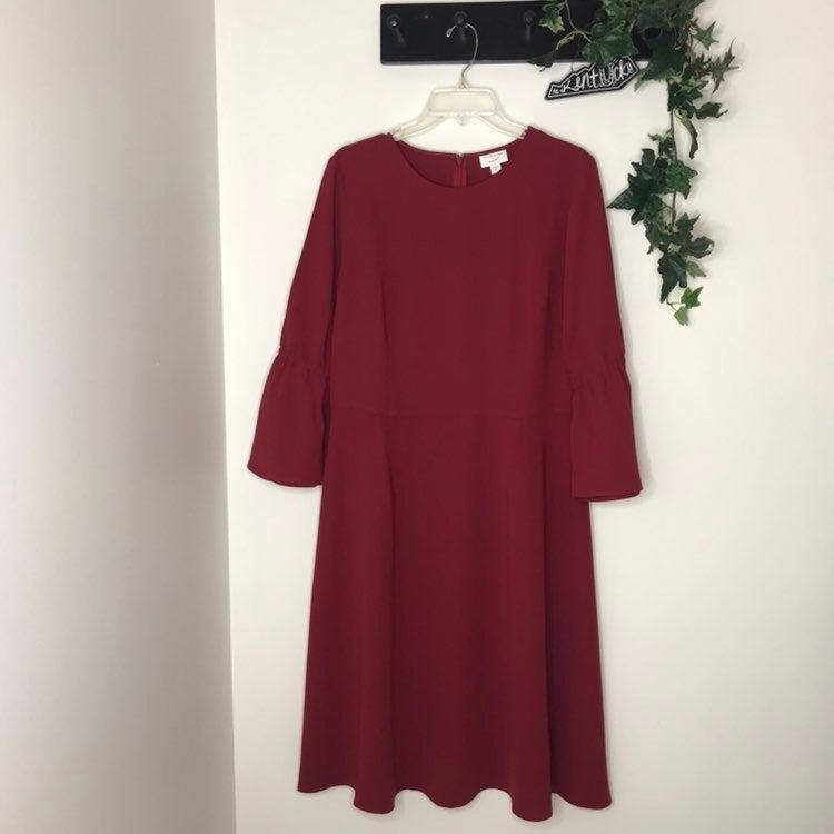 J Jill Ruby Polyester Dress NWT 12 Tall